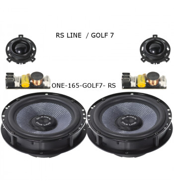 Gladen ONE165 GOLF 7 RS